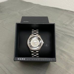 Marc By Marc Jacobs Henry Transparent Dial Watch